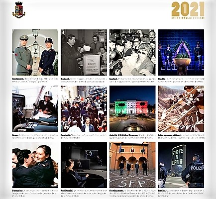 polizia savona, calendario polizia