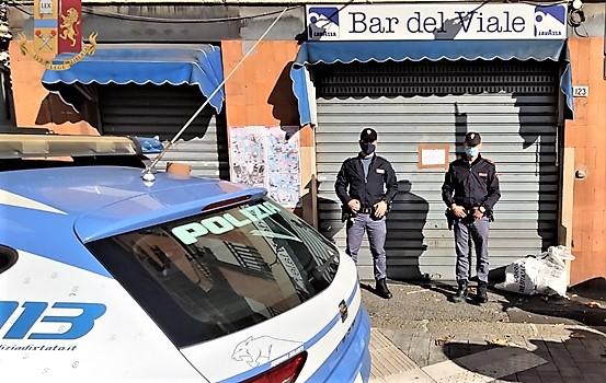 Genova cronaca breve. Bar chiuso per 15 giorni, varie sanzioni per norme anticovid, altro bar chiuso 5 giorni