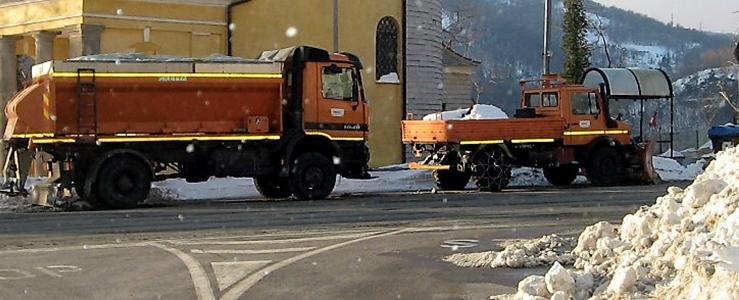 Gli spartineve di Savona sulla griglia di partenza. La Provincia affida il servizio per quasi 2,4 milioni