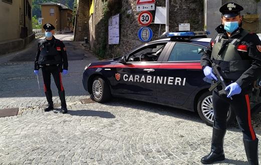 carabinieri, emergenza covid, valle ossola