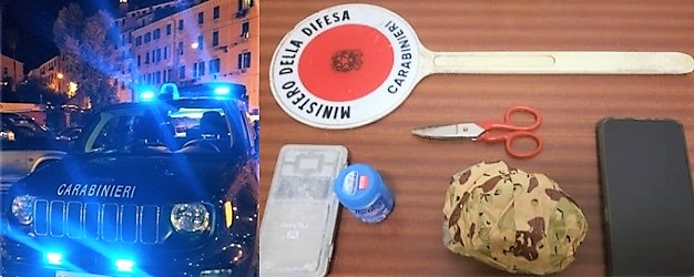 31enne beccato nell'entroterra di Ventimiglia con 200 grammi di cocaina, valore 20mila euro