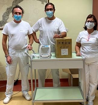 Dal Rotary Club Albenga nuove apparecchiature respiratorie per l'Ospedale cittadino