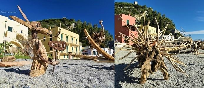 Dopo il mare di legno, anche Varigotti ha il suo zoo