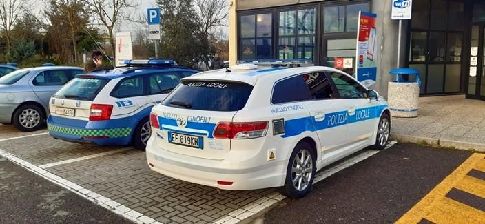 Auto nuova da confisca alla Polizia di Albenga Finale Loano