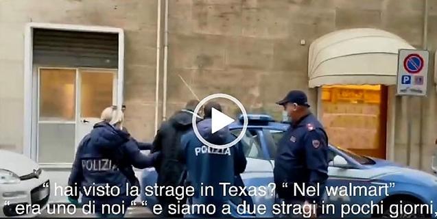 polizia savona, savona cronaca, arresto 22enne nazifascista