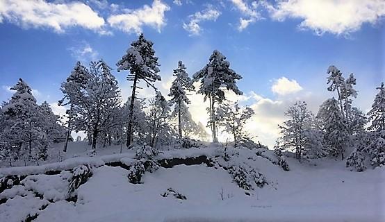 Sassello, due casi positivi al Covid-19 tra neve e gelo