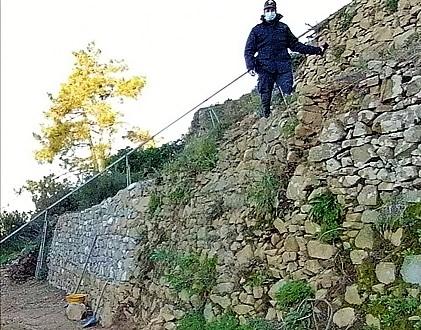 cinque terre cronaca, carabinieri cinque terre, truffa muri a secco