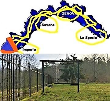 Liguria zona gialla tranne ponente