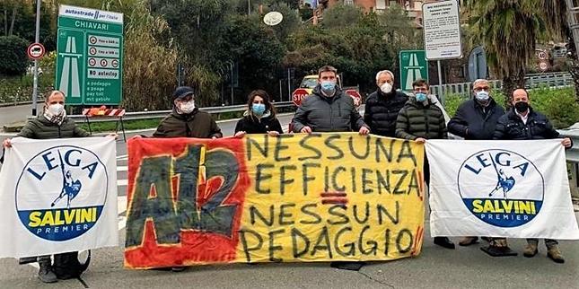 autostrade a26 a12 proteste