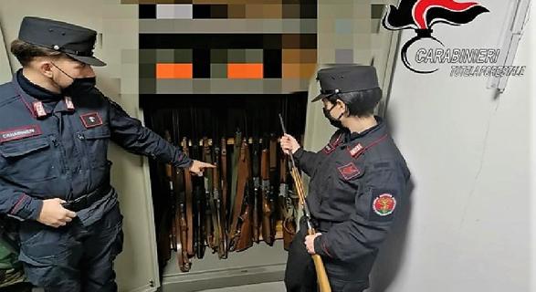 carabinieri forestale triora bracconaggio