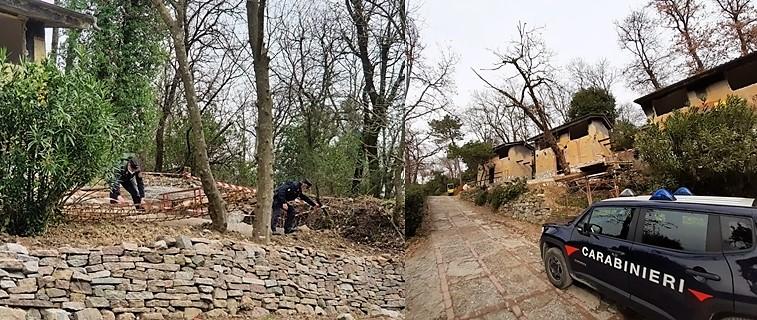 Forestale sequestra fabbricati in ristrutturazione a Sarzana