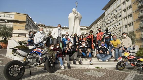 Mototerapia Take-Away a Roma con Vanni Oddera e Di.Di.