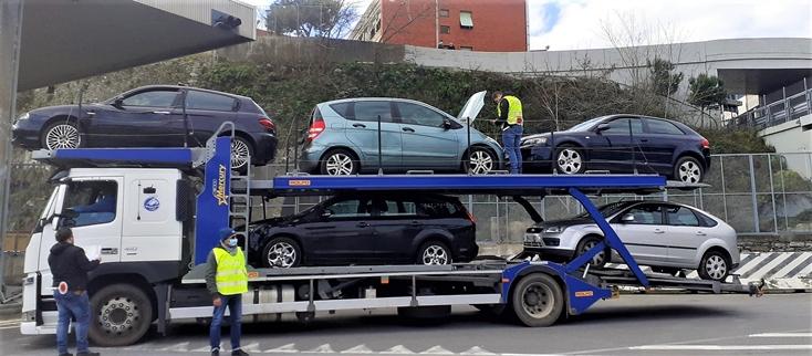 polizia stradale liguria controlli pezzi pesanti