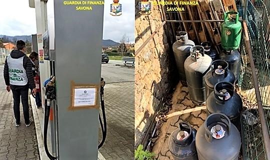 finanza savona controlli distributori carburanti