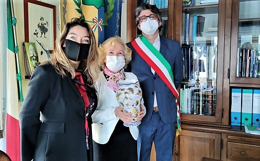 albissola marina premia signora deportata in libia