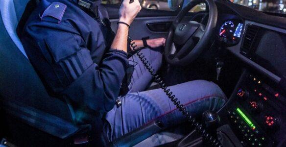 minacce autista e polizia