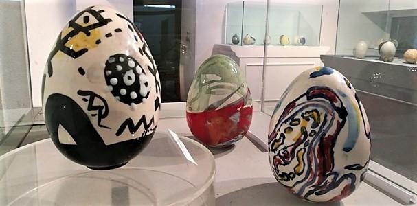RipARTEnza – uova d'artista – mostra nel centro storico di Albissola