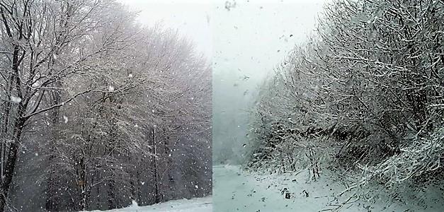 Continua a nevicare sui monti di Sassello