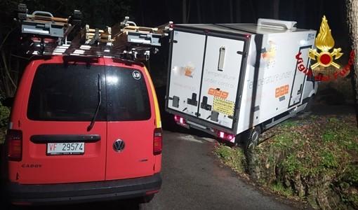 incidente furgone tiglieto rossiglione