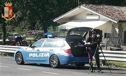 polizia stradale controlli speed liguria