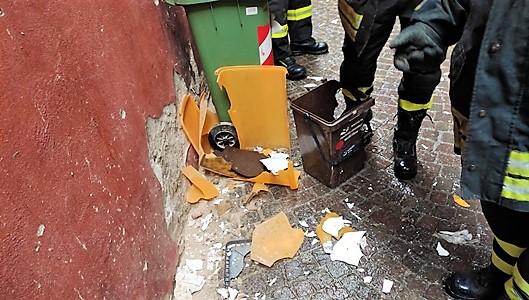 Preso l'autore dell'esplosione 1° maggio a Cairo Montenotte, denunciato