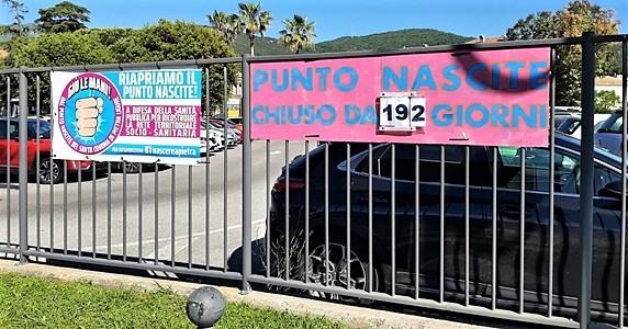 Santa Corona, 192 giorni di chiusura del Punto nascite