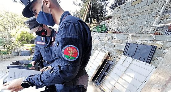 sequestrate due abitazioni nel parco 5 terre a monterosso