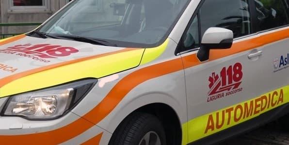 Genova 118 automedica conferma servizi con anestesisti