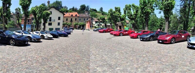Sassello, Portofino, Genova la tappa ligure del Rosso Corsa Ferrari