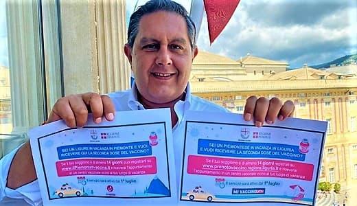 vaccinazioni Open Day Pfizer e turisti in liguria