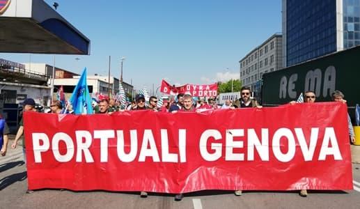 Genova portuali niente sciopero 19 e 28 luglio