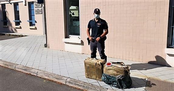 Polizia Imperia sequestro hashish