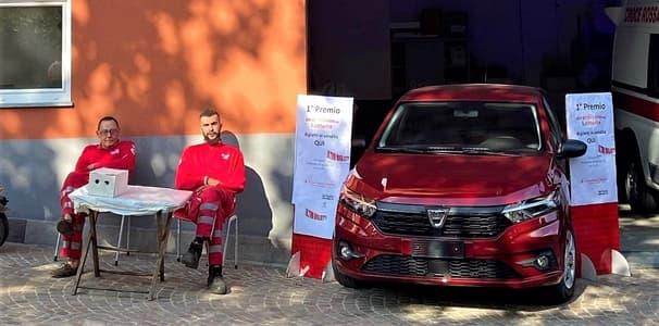 Sassello, lotteria Croce Rossa: il vincitore dell'auto non ci credeva