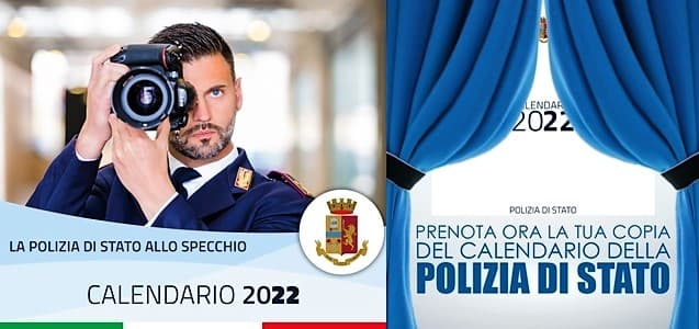 Polizia di Stato esce il calendario 2022 per l'Unicef