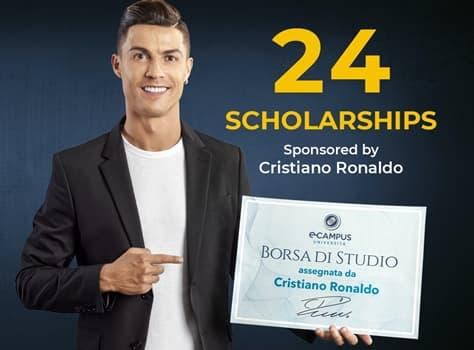Cristiano Ronaldo dona 24 borse di studio, candidature entro 12 settembre