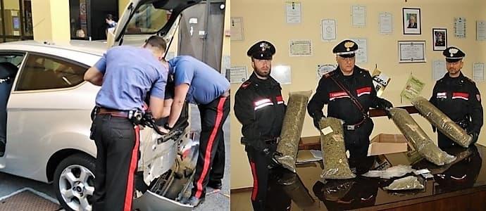Quattro arresti per droga a Verbania, coprivano anche il ponente ligure