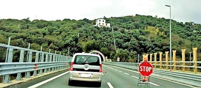 Autostrada A10: alle 4 sono ripresi i lavori tra Aeroporto e Prà