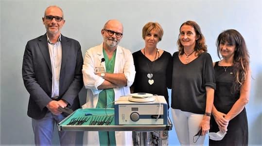 Chirurgia cerebrovascolare, donazione Picea al San Martino