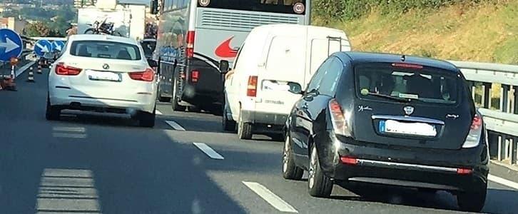 Incidente auto e camion sulla A10 tra Savona e Albisola