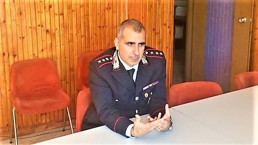 Cairo Montenotte, ultimo giorno del Ten. Col. Quattrocchi, passa a Genova