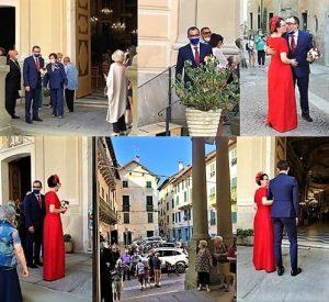 Daniele b matrimonio con Cristina a Sassello