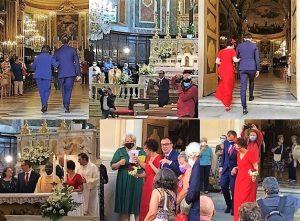 Daniele c matrimonio con Cristina a Sassello
