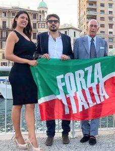 Giusy Rizzotto con Marco Melgrati coord FI