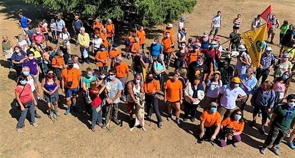 Parco Sì miniera NO, passeggiata sul monte Tarinè nel Parco Beigua