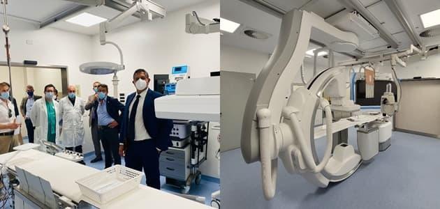 San Paolo Savona, presto in funzione il nuovo angiografo digitale
