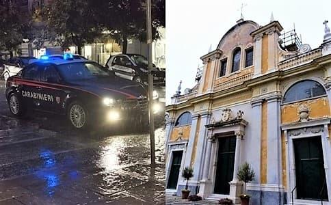 Celle Ligure, 47enne sorpreso a rubare nella chiesa S. Michele, arrestato