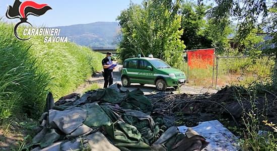 Savona, Carabinieri forestali tra incendi e prevenzione sul territorio