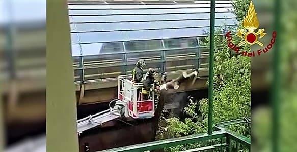 Genova ieri colpita dal maltempo, oltre 60 interventi dei Vigili del fuoco