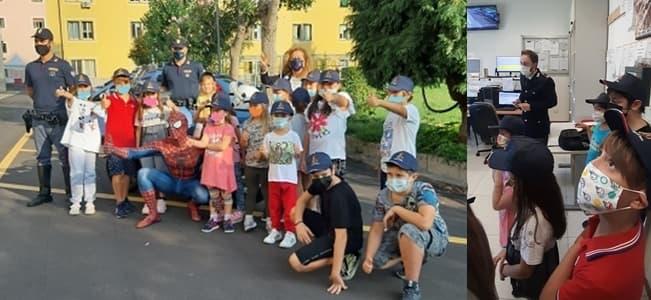 Savona, Spiderman al Family Day della Polizia di Stato