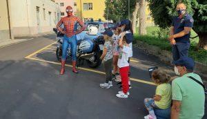 spiderman per la Festa della Polizia di Savona (2)